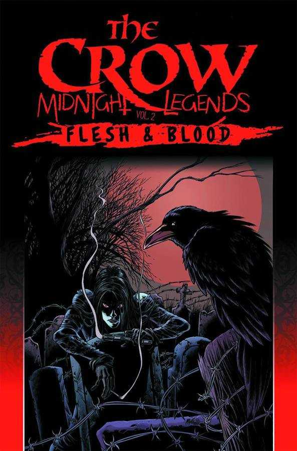 The Crow Midnight Legends Volume 2 Flesh  Blood obalka