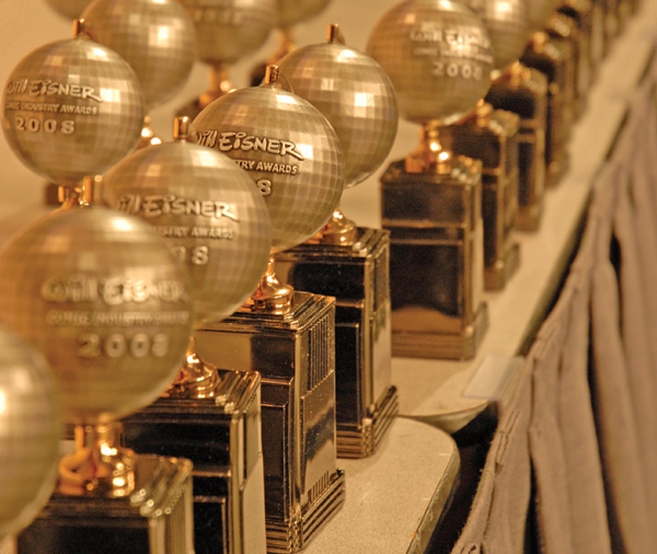 eisnerawards 2008statues