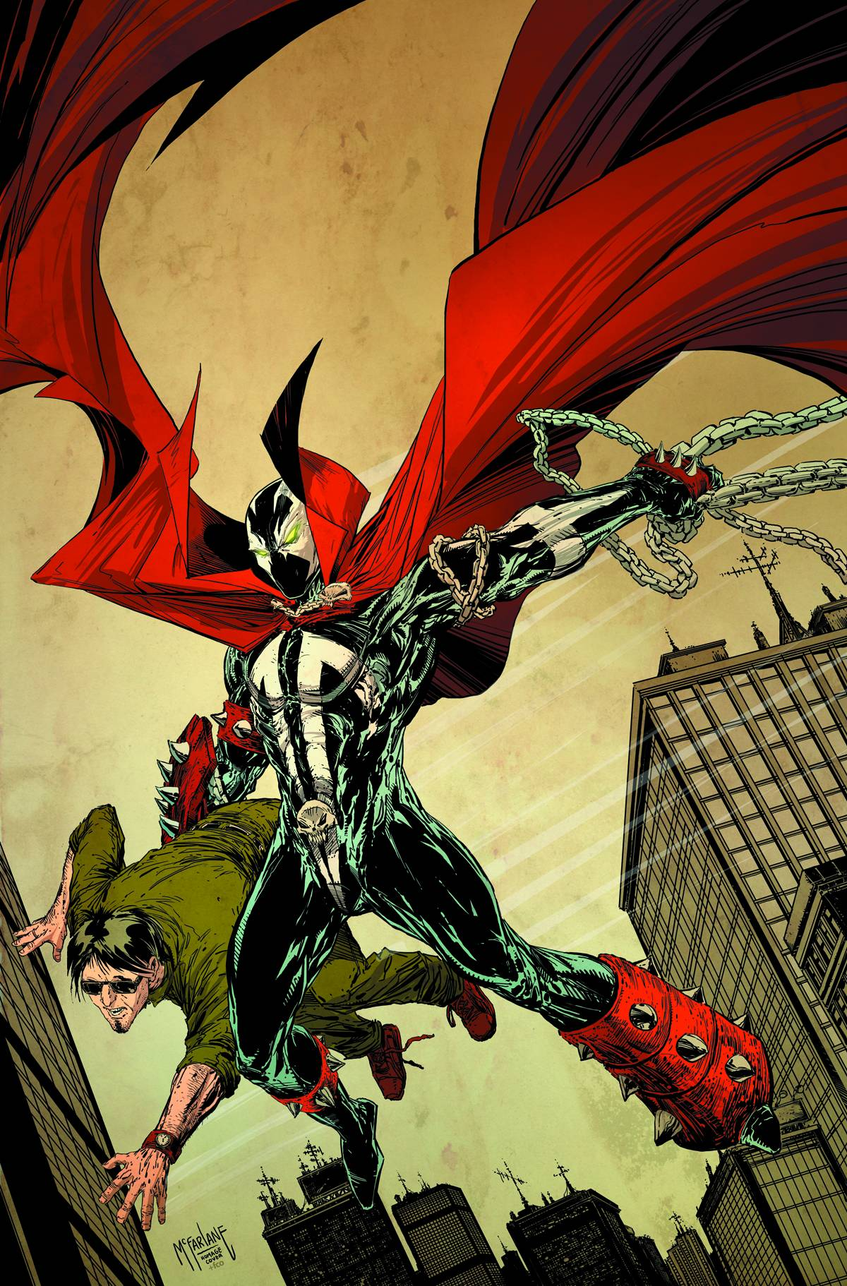 Spawn 221 Cover